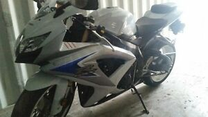 MINT 2008 SUZUKI GSXR 600 LIMITED EDITION
