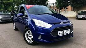 2015 Ford B-MAX 1.4 Zetec 5dr Manual Petrol Hatchback
