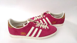 Adidas Gazelle Og Pink Shoes Women Suede Sneakers Originals 9