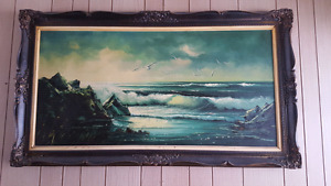 Oil painting early 1900s