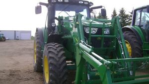 JD 6150R MFWD c/w H 360 Loader and Grapple
