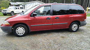2000 Ford Windstar Minivan, Van