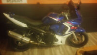 Mint gsx650f for sale or trade $4200