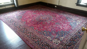 Large hand made indoor carpet