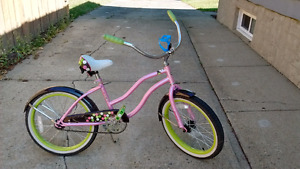 "20"" girls bike in good condition"