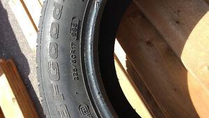 BF Goodrich winter slalom 3 tires 225/60/17