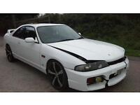 1996 Nissan Skyline R33 GTST Turbo DAMAGED SPARES OR REPAIR SALVAGE