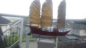 Beautiful Chinese Junk Boat!