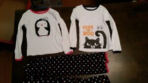 2 - two piece sleepwear size 5 - carter's brand - $10.00 for all