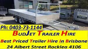 TRAILER HIRE BRISBANE 4.8m x 2.4m FLAT DECK & SIDES $80 Per 24hrs Brisbane Region Preview
