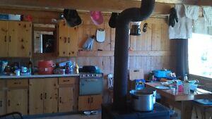 Chalet    Camp  chasse et pêche chemin la Brodeuse chute Passes Lac-Saint-Jean Saguenay-Lac-Saint-Jean image 6