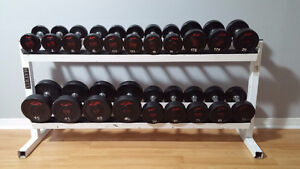 GP Commercial Urethane Dumbbells 5lbs-90lbs