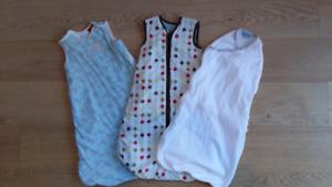 3x newborn sleeping bag bundle Balaclava Port Phillip Preview