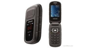 BEST 8GB samsung Rugby FLIP Phone+Accessories+ Factory Unlocked