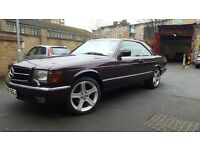 Mercedes benz 500 sec v8 beast amg styling fresh paint not audi rs 6 m6 m3 offers
