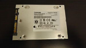 Toshiba 256GB SSD for Macbook