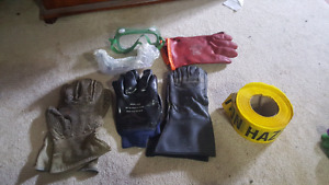industrial gloves and other materials