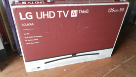 TV 50INCH LG BRAND NEW SMART 4K ULTRA HD HDR