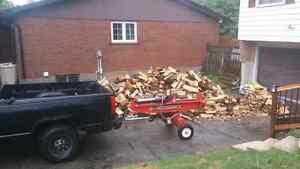 Need your wood split?? Contact me Cambridge Kitchener Area image 1