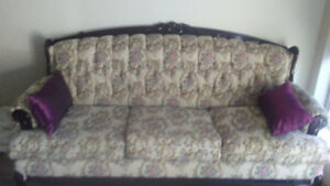 Victorian style couch