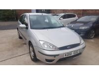 Ford Focus 1.6i 16v 2001.25MY Zetec MOT TILL JANUARY 2018