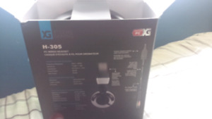 PC wired headset NEW
