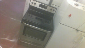 30'' Frigidaire S|C Smooth Top Stainless Stove.