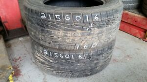 Pair of 2 Goodyear Assurance TripleTread 215/60R16 tires (80% tr