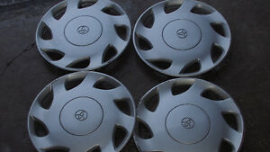 "16"" Genuine 4 Toyota Hubcaps for $30"