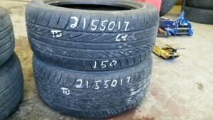 Pair of 2 Sailun Atrezzo 215/50R17 tires (65% tread life)
