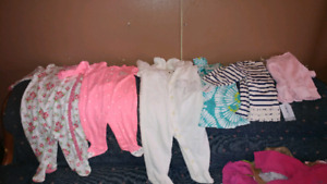 BNWT Carter Baby Girl Clothing Lot!!