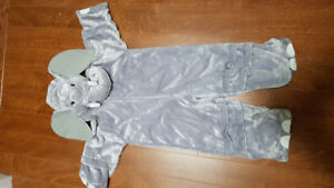 Elephant costume - size 3T to 4T