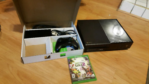 Xbox One 500gb with controller and game