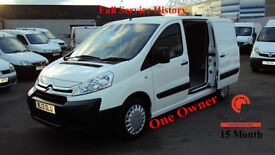 2013 CITROEN DISPATCH WHITE DIESEL VAN 2.0HDi 1200 ( 125ps ) L2H1 ENTERPRISE LWB