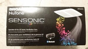 Broan nutone sensonic bluetooth bathroom fan speakers