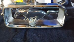1960's Mustang Chrome Grill Emblem