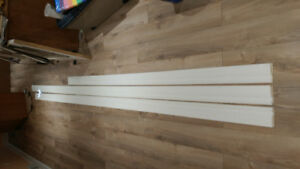 """3 Pieces of 1/2"""" X 4 1/8"""" Baseboard"""