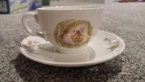 Beatrix Potter tea cup and saucer