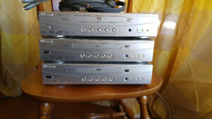 DVD players, 3 of them