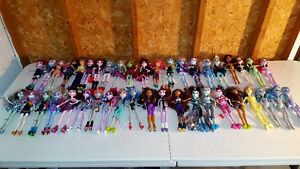 MONSTER HIGH DOLL COLLECTION for sale