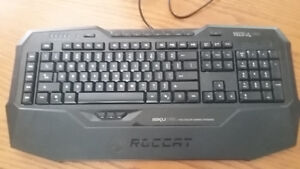 Roccat  Multicolour Gaming Keyboard