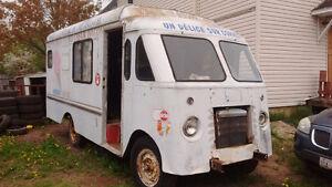 1961 Chevy 1 ton ice cream van