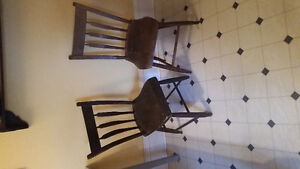 antique arrow back chairs
