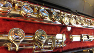 Flute totally restored by technician - Artley 18 USA
