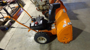 Be Ready- 2 Gas Snow Blowers,1 Electric, Excell Online Auctions