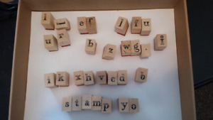 Stamp letters