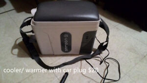 cooler/ warmer with car plug