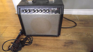 Amp with mic