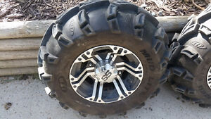 FOR SALE-Polaris mud lit SS tires