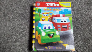 Tonka Road Rally - My Busy Books - Excellent Condition